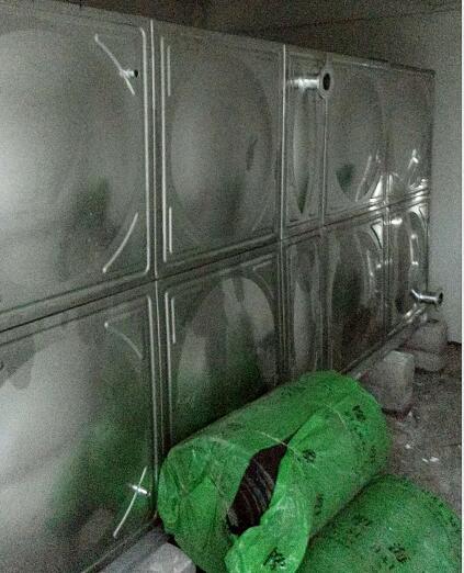 西安不锈钢水箱完工-27吨