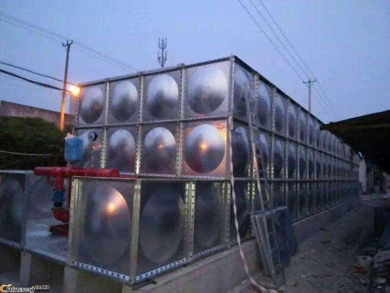 青海省西宁市不锈钢水箱案例
