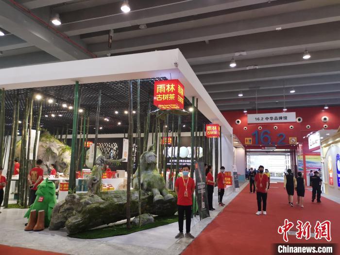 2021春季广州茶博会开幕 十大红色茶旅线路发布