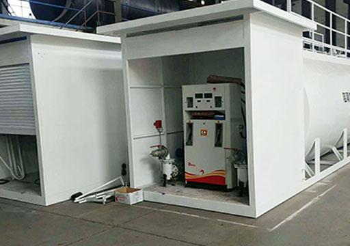 撬装加油装置生产区