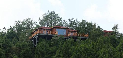 四川轻型木结构民宿设计施工