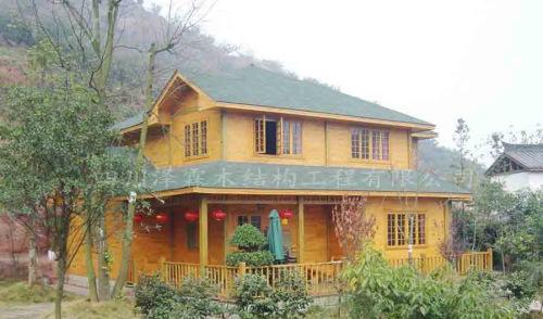 四川防腐木木屋设计