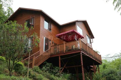 四川木结构房屋酒店