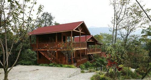 四川木别墅设计