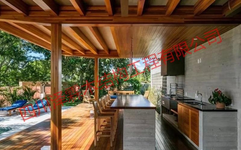 你家的四川木屋都是哪些木材类型?原来这些都是防腐木