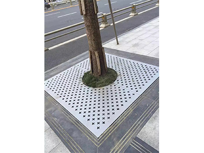 不锈钢树池加工案例