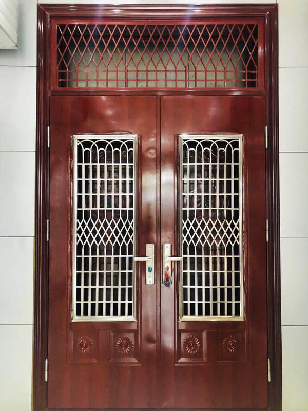 複式防盜門