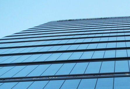 呼市玻璃幕墙