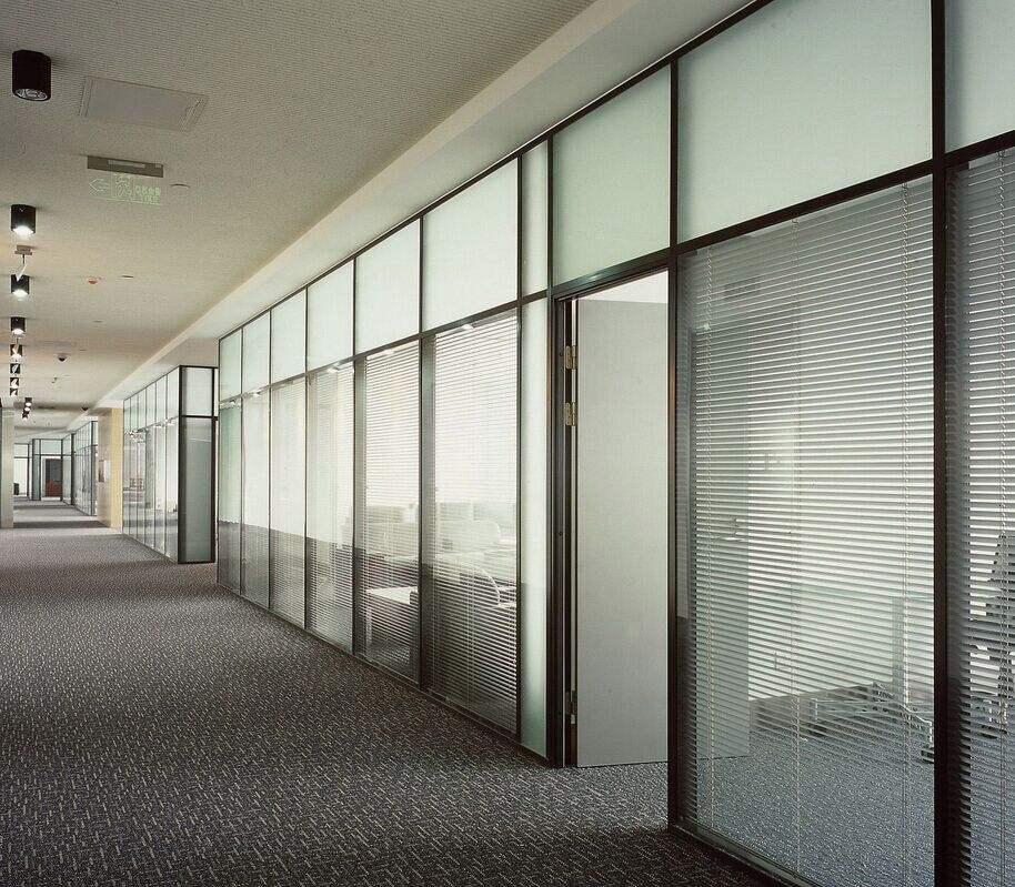 呼市办公室玻璃隔断
