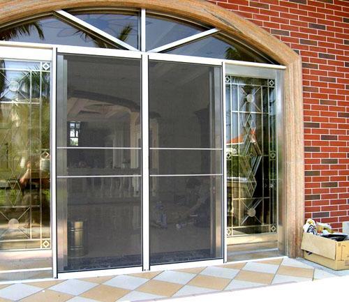 防盗门可以安装纱门吗?