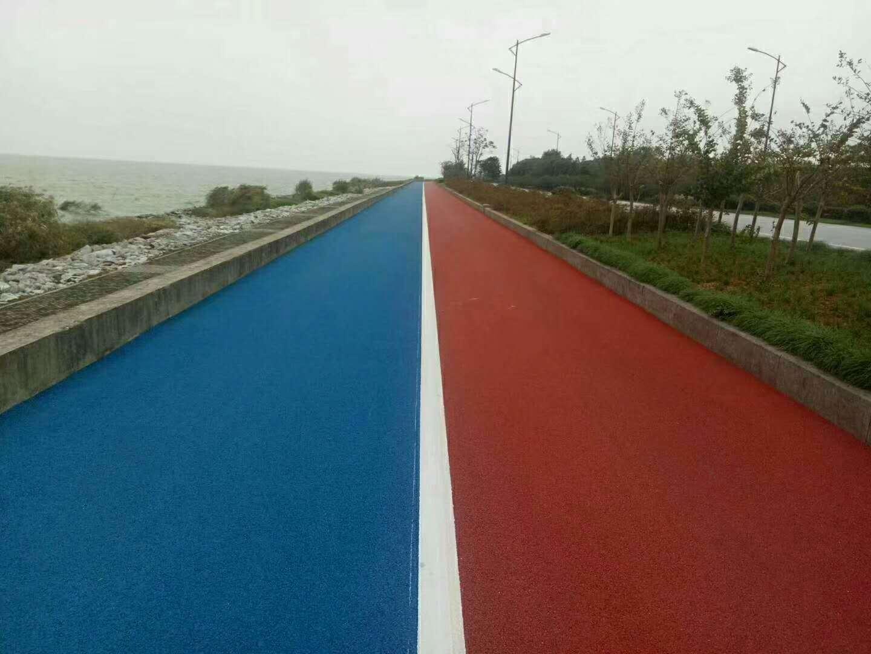 彩色沥青道路案例赏析