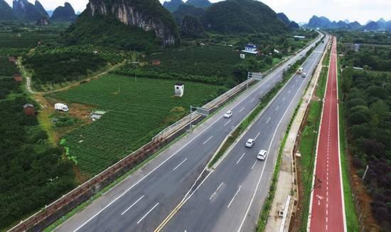 桂林绿色休闲通道 鼎乐绿道