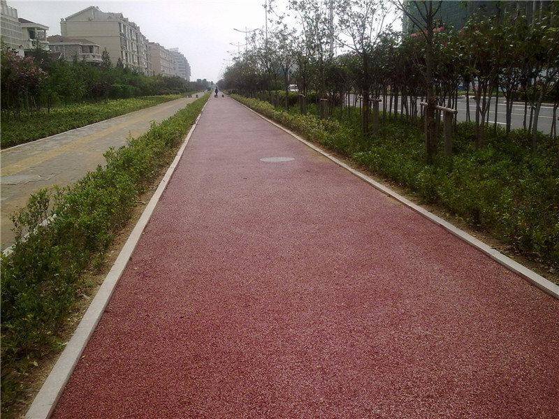 彩色沥青路面施工价格