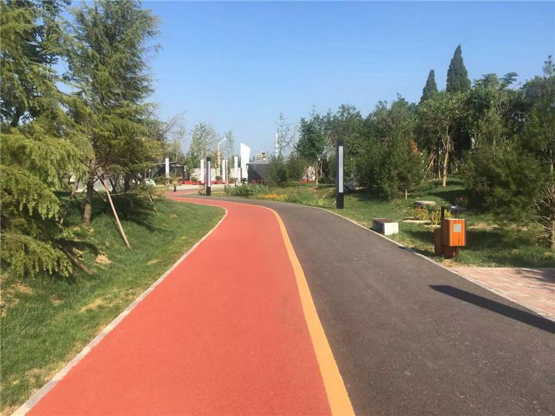 四川彩色沥青路面施工厂家