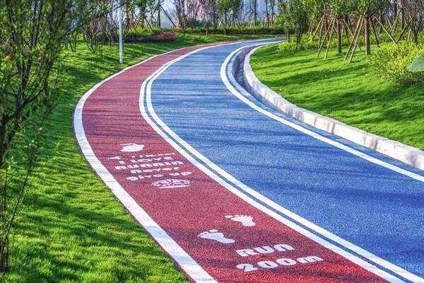 彩色沥青路面案例