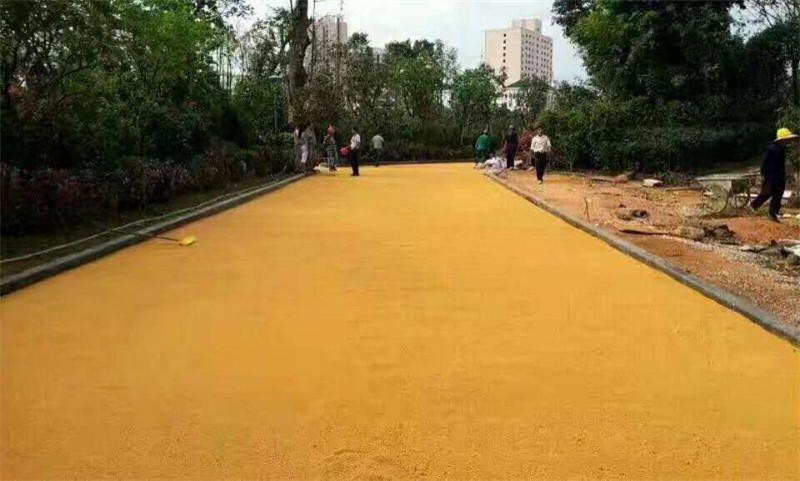彩色沥青混凝土