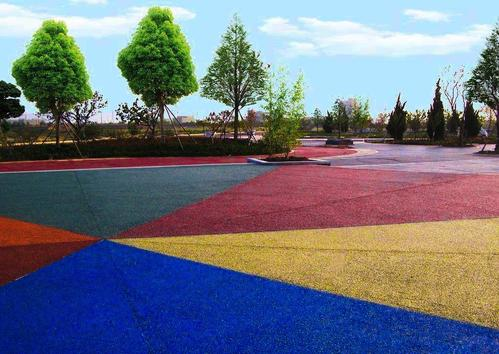 湖北彩色沥青路面