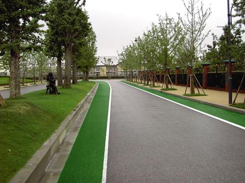 江西彩色沥青路面铺设效果案例分享