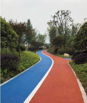 色彩鲜艳彩色沥青路面铺设厂家