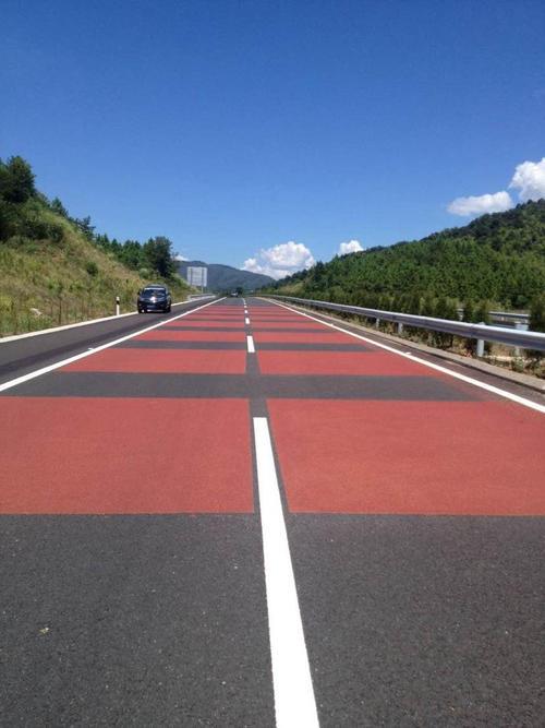 江西彩色沥青路面