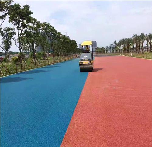 四川彩色沥青路面设计方案施工厂家