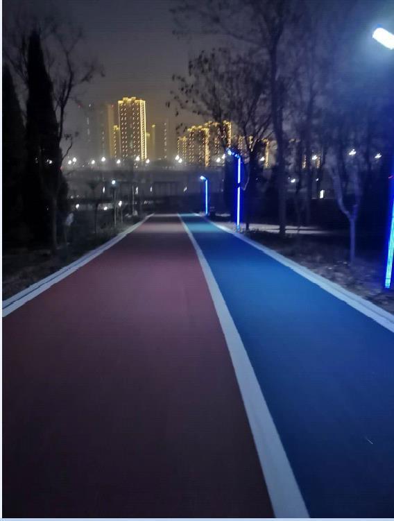 当江西彩色沥青路面出现色差如何处理?听听专业的路面施工厂家怎么说