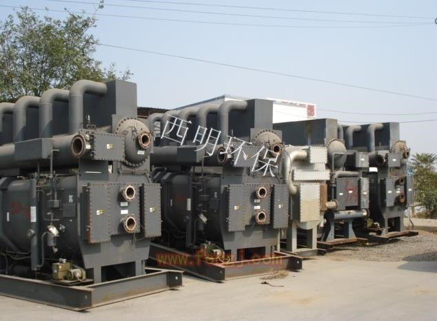 溴化锂制冷机回收
