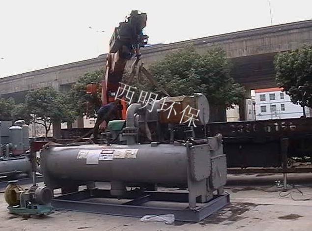 溴化锂制冷机回收及置换