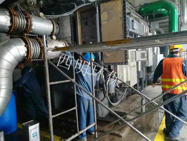 溴化锂制冷机清洗