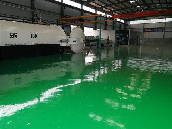 西安中空玻璃工厂环境