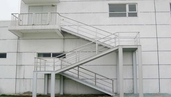 宝鸡钢构楼梯生产