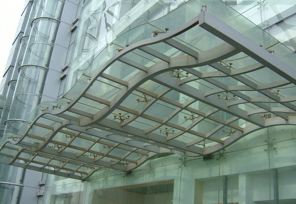 宝鸡玻璃雨棚