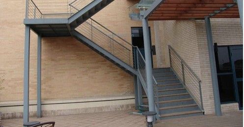 宝鸡钢构楼梯