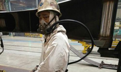 电焊工厂合作产品复合型防尘罩