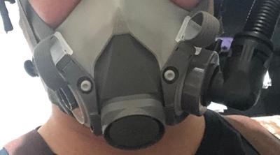 烧电焊客户这样评价西安防毒面罩