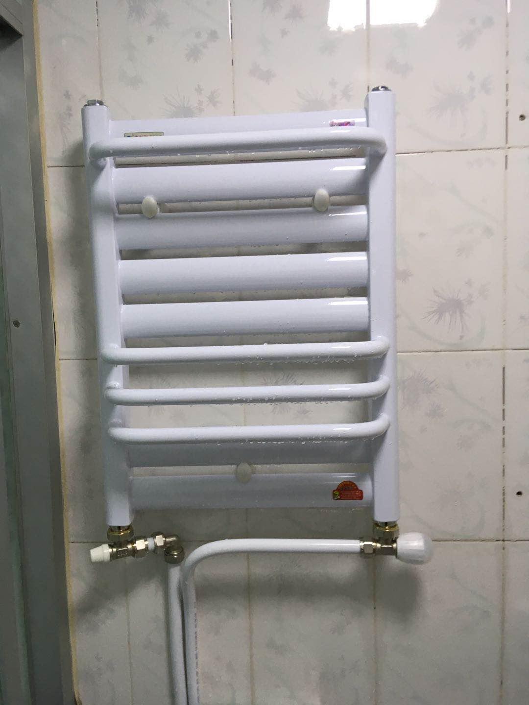 兴信名苑锅炉暖气片安装完成
