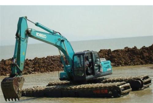 在操作水陆挖掘机时出现动力不足怎么办