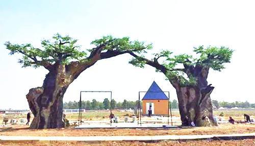西安仿真假树效果图