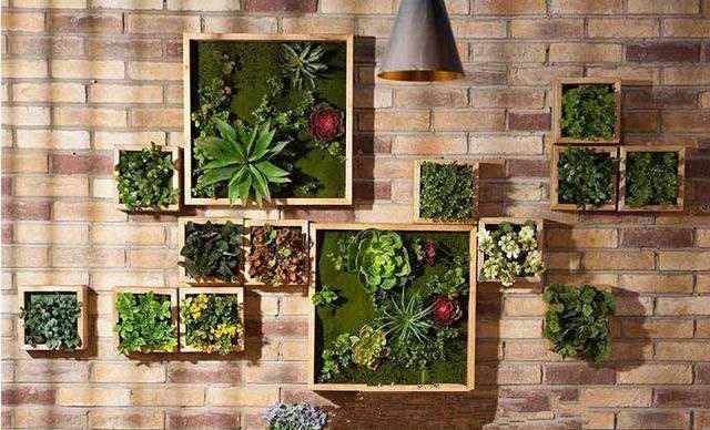 仿真植物墙效果图展示