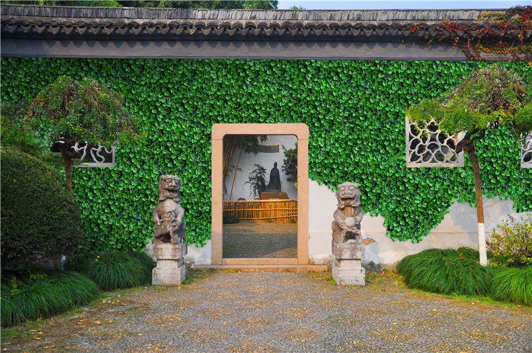 西安仿真植物墙室内效果图