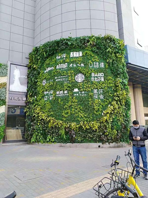 仿真植物墙的制作,影响仿真植物墙美观程度的因素