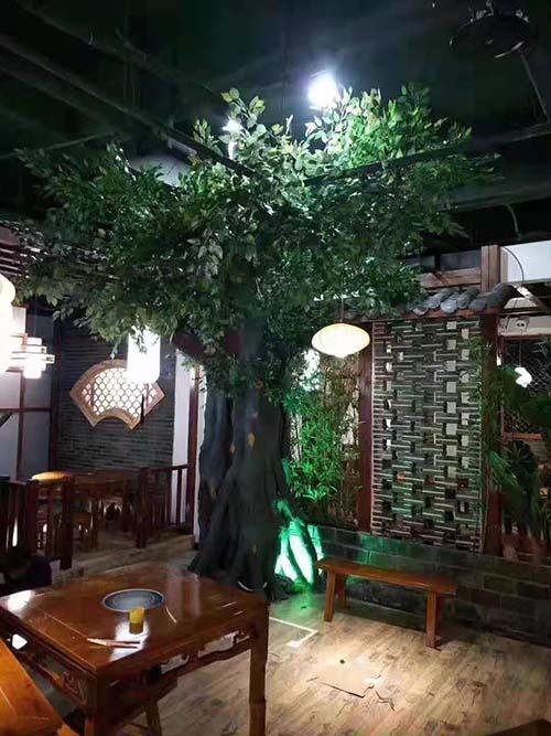 西安室内仿真树木