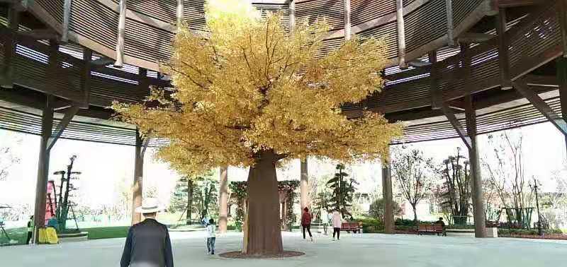 陕西仿真假树