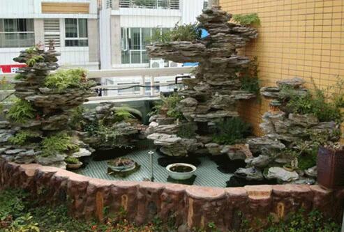 博越小编跟你聊下西安假山在庭院景观设计的四个技巧