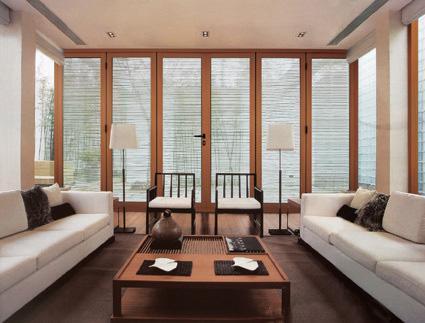 铝木门窗优势