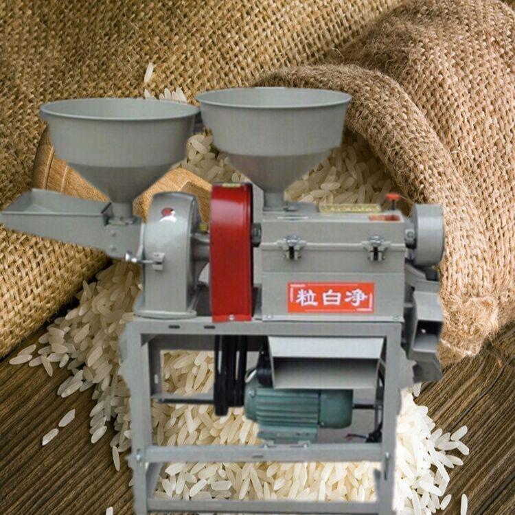 碾米机工作图片