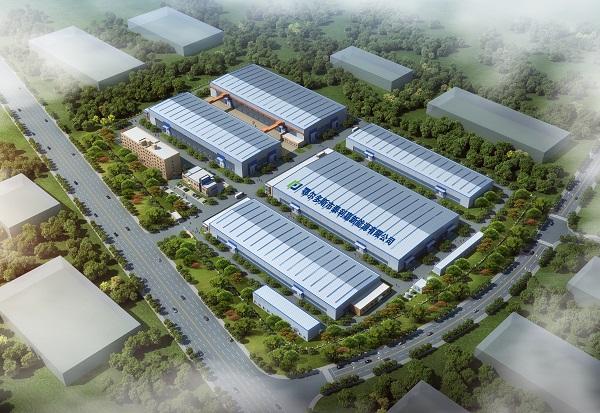 公司厂区鸟瞰图