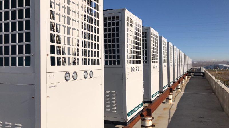 地源热泵公司与泰力机械宿舍楼合作