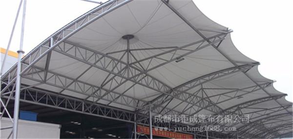 华建铝业雨棚