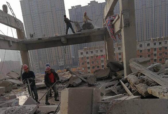 襄阳建筑拆除案例
